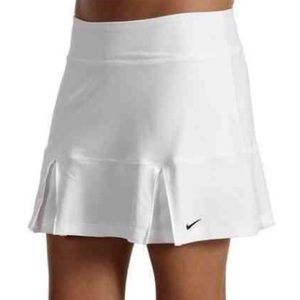 Nike Dri-Fit White Tennis Skirt Skort Athletic S